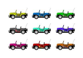 Fernbedienung Jeep Free Vector