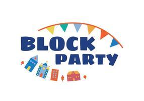 Block Party Illustration