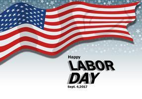 Labor Day Poster Design vektor