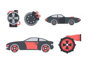 Freie hervorragende Automobil-Vektoren