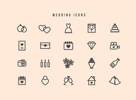Gratis Bröllopsvektorer vektor