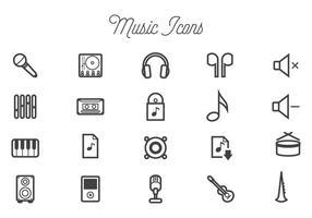 Kostenlose Musik-Vektoren vektor