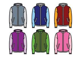 Windbreaker jacket vektor