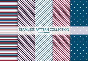 Patriotische Muster-Sammlung