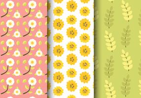 Freies Frühlingsblumenmuster vektor