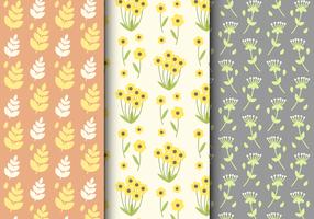 Freies Sommer-Blumenmuster vektor