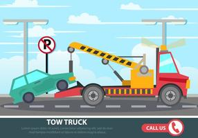 Straßenfahrzeugunterstützung vektor