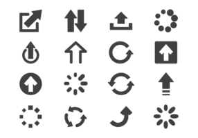 Aktualisiere Icons Vector