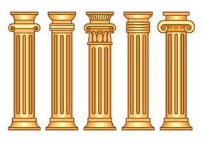 Korinthische Vektoren gesetzt