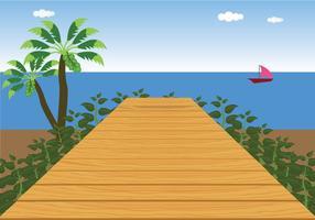 Boardwalk-Vektor