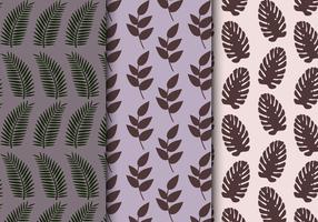 Gratis tropiskt exotiskt mönster