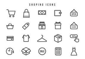 Kostenlose Shopping-Vektoren vektor