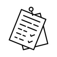 Clip Dokumente Symbol vektor