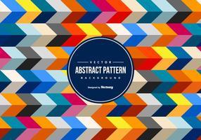 Färgglada abstrakta Chevron Bakgrund