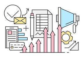 Gratis Business och Finance Vector Elements