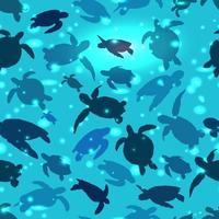 Weltschildkröten-Tageshintergrund vektor