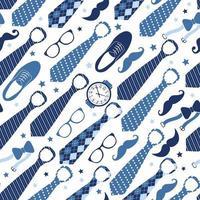 glad fars dag, semesterkort med slipsar