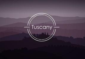 Toskana Hintergrund Free Vector
