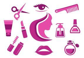 Free Beauty Icons Vektor