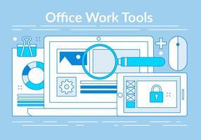Kostenlose Linear Office Tools Elemente