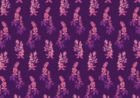 Bluebonnet Muster Vektor