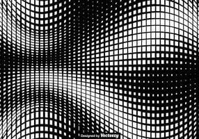 Vektor quadratische Halbton Textur