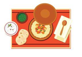 Arabische Küche Vektor