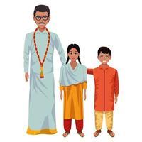 indiska familjen seriefigurer