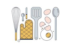 Gratis Cook Tools Vector
