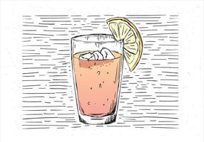 Free Hand Drawn Vector Juice