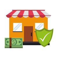 shoppingförsäljning och marknadsföringskomposition