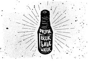 Free Hand Drawn Beverage Hintergrund vektor