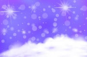 magischer Märchenpastellhimmelhintergrund
