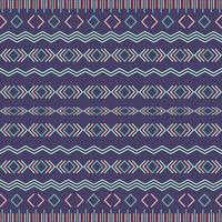 Aztec stam sömlösa mönster med geometriska element