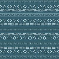 aztekisches Stammesmuster mit geometrischen Formen