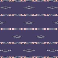 aztec etniska stam sömlösa mönster med geometriska former