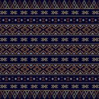 aztekisches Stammes nahtloses Muster