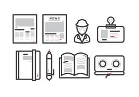 Old Press Release Vector
