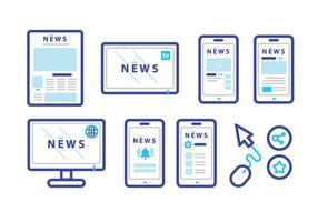 Neue Pressemitteilung Vector