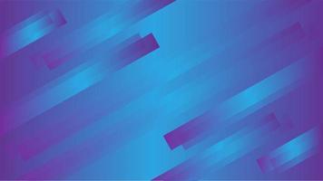 abgewinkelte metallisch lila blaue Farbverlaufsstreifen