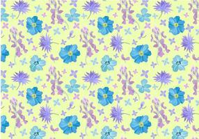 Freie Blumenmuster Vektoren