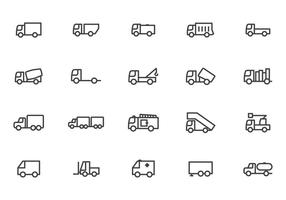 Kostenlose Camion-Vektoren