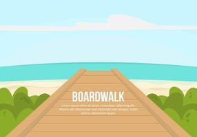 Boardwalk Illustration