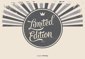 Grunge Werbeartikel Limited Edition Hintergrund