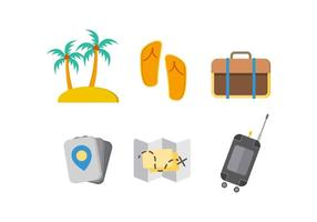 Free Iconic Tourism Ornament Vektoren