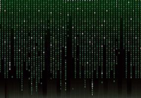 Matrix Hintergrund Vektor