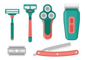 Rasierer Vektor Icons