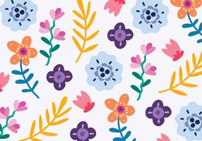 Ditsy Blumen Vektor