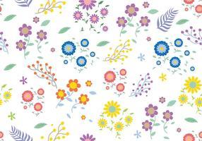 Nahtloses Ditsy Blumenmuster vektor