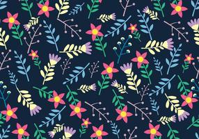Ditsy Floral Nahtloses Muster